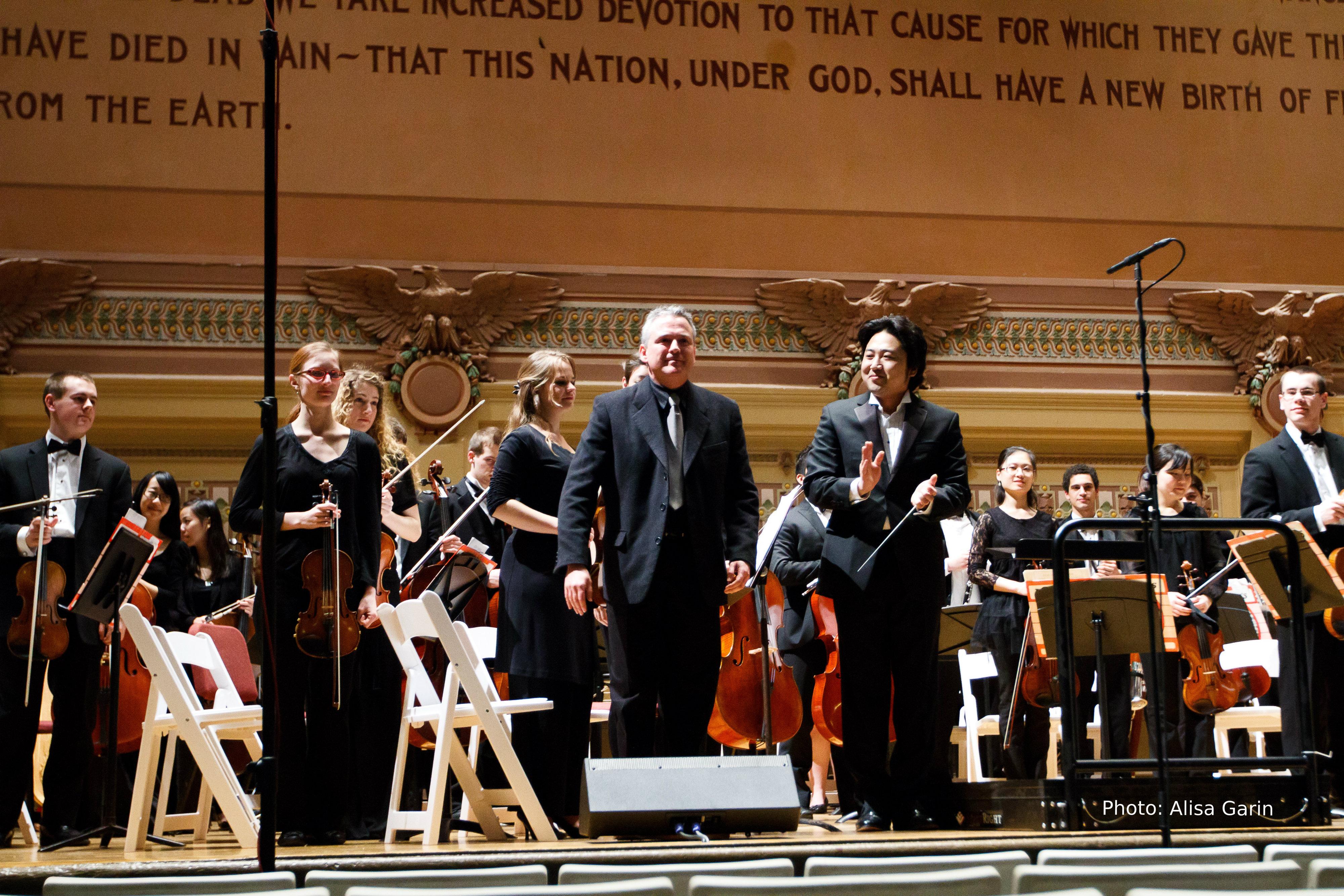 Iridescences premiere: Keun Oh, conductor